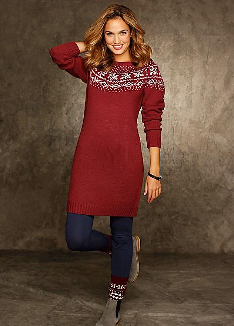 Style Spotlight Knitted Jumper Dresses Bonprix The Blog
